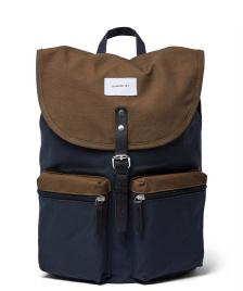 Sandqvist Sandqvist Backpack Roald multi navy/olive