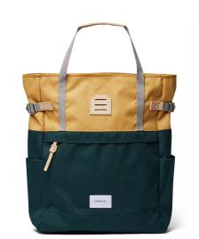 Sandqvist Sandqvist Backpack Roger multi honey yellow/dark green