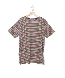 Revolution (RVLT) Revolution T-Shirt 1144 Striped red multi