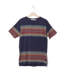 Revolution (RVLT) Revolution T-Shirt 1146 Striped blue navy