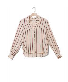 Levis Levis W Shirt Marcey beige split rock stripe sandshell