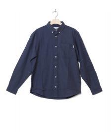 Carhartt WIP Carhartt WIP Shirt Dalton blue prussian heavy rinsed