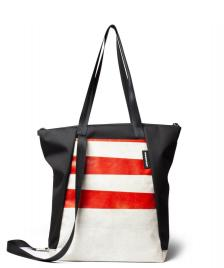 Freitag Freitag ToP Tote Bag Davian white/red