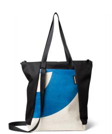 Freitag Freitag ToP Tote Bag Davian white/blue