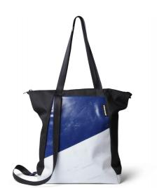 Freitag Freitag ToP Tote Bag Davian blue/white