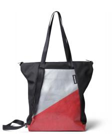 Freitag Freitag ToP Tote Bag Davian silver/red