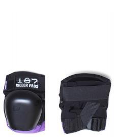 187 Killer 187 Killer Protection Derby Pads Pro black/purple