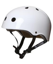 S1 S1 Helmet Lifer white gloss