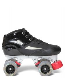 Chaya Chaya Derby Boots Pearl black