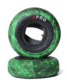 Rocker Rocker Tyres Street Pro Pair black/green