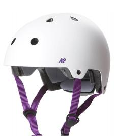 K2 K2 Helmet Jr Varsity white/purple