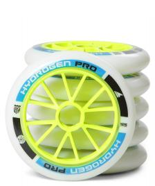Rollerblade Rollerblade Wheels Hydrogen Pro XX Firm 125er white/blue/green