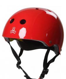 Triple 8 Triple 8 Helmet Certified Mips EPS Liner red glossy