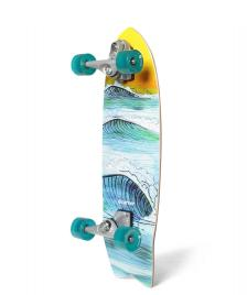 Carver Carver Surfskate Swallow C7 blue/yellow