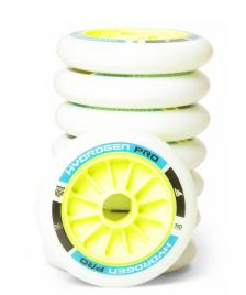 Rollerblade Rollerblade Wheels Hydrogen Pro Firm 110er white/green/blue