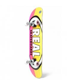 Real Real Complete Oval Stripes yellow multi