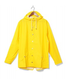 Rains Rains Rainjacket Short yellow