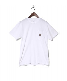 Carhartt WIP Carhartt WIP T-Shirt Pocket white