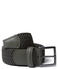 Andersons Andersons Belt Slim Woven green