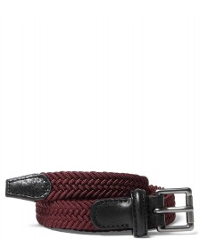 Andersons Andersons Belt Slim Woven red