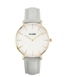 Cluse Cluse Watch La Boheme grey/white gold