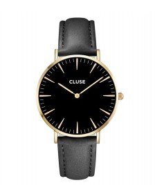 Cluse Cluse Watch La Boheme black/black gold