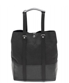 Qwstion Qwstion Bag Shopper black leather canvas