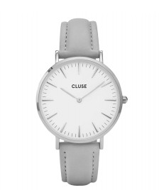 Cluse Cluse Watch La Boheme grey/white silver