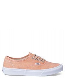 Vans Vans W Shoes Authentic Slim orange coral/true white chambray