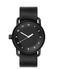Tid Tid Watch No.1 black leather/black
