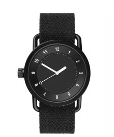 Tid Tid Watch No.1 black coal twain/black
