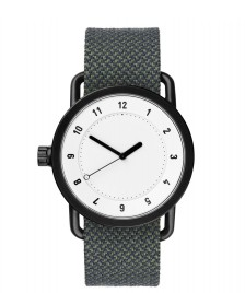 Tid Tid Watch No.1 green pine twain/white