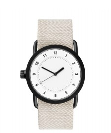 Tid Tid Watch No.1 36 beige sand twain/white