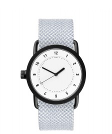 Tid Tid Watch No.1 36 grey mineral twain/white