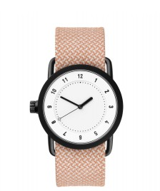 Tid Tid Watch No.1 36 orange salmon twain/white