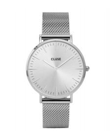 Cluse Cluse Watch La Boheme Mesh silver full