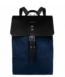 Sandqvist Sandqvist Backpack Alva blue w. black