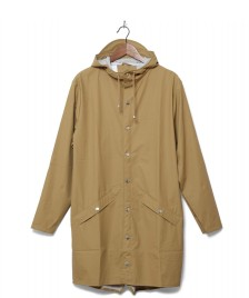 Rains Rains Rainjacket Long brown khaki