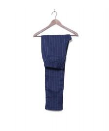 MbyM MbyM W Pants Ibi blue pinstripe