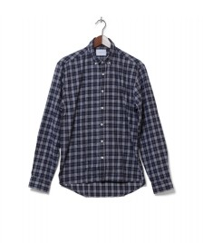Legends Legends Shirt Coast Flannel blue navy/white
