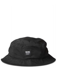 Wood Wood Wood Wood Hat Bucket black
