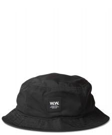 Wood Wood Wood Wood Hat Bucket black