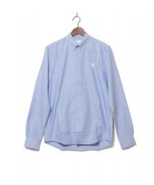 Wood Wood Wood Wood Shirt Timothy blue grey daw