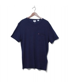 Levis Levis T-Shirt Sunset Pocket blue saturated