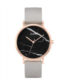 Cluse Cluse Watch La Roche grey/black marble rosegold