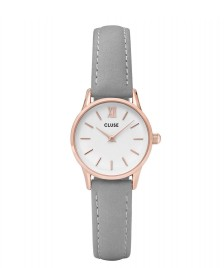 Cluse Cluse Watch La Vedette grey/white rosegold