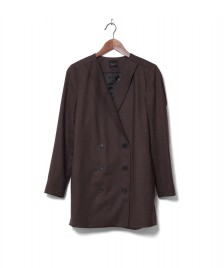 Selected Femme Selected Femme Blazer Sfvalina brown java