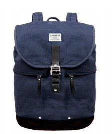 Sandqvist Sandqvist Backpack Gary Waxed blue