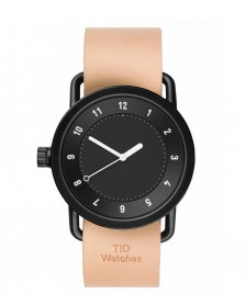 Tid TID Watch No.1 beige natural leather/black