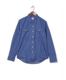 Levis Levis Shirt Orange Tab blue baby denim